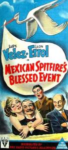 Mexican Spitfire's Blessed Event - Australian Movie Poster (xs thumbnail)