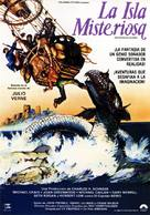 Mysterious Island - Spanish Movie Poster (xs thumbnail)