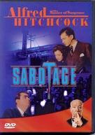Sabotage - DVD cover (xs thumbnail)