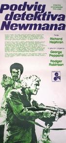 Newman's Law - Czech Movie Poster (xs thumbnail)