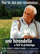 Une hirondelle a fait le printemps - French Movie Poster (xs thumbnail)