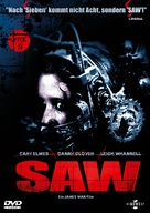 Saw - German Movie Cover (xs thumbnail)