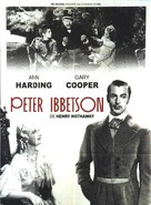 Peter Ibbetson - French Movie Poster (xs thumbnail)