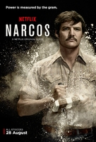 """Narcos"" - British Movie Poster (xs thumbnail)"