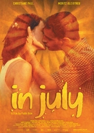 Im Juli. - British Movie Poster (xs thumbnail)