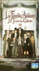 Addams Family Values - Spanish VHS movie cover (xs thumbnail)