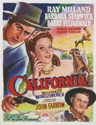 California - Belgian Movie Poster (xs thumbnail)