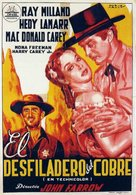 Copper Canyon - Spanish Movie Poster (xs thumbnail)