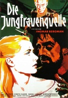 Jungfrukällan - German Movie Poster (xs thumbnail)