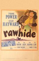 Rawhide - Movie Poster (xs thumbnail)