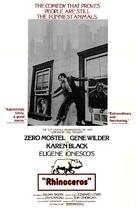 Rhinoceros - Movie Poster (xs thumbnail)