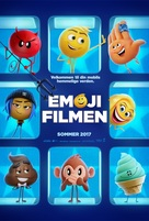 The Emoji Movie - Danish Movie Poster (xs thumbnail)