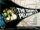 The Taking of Pelham One Two Three - British Movie Poster (xs thumbnail)