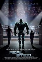 Real Steel - French Movie Poster (xs thumbnail)