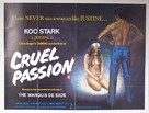 Cruel Passion - British Movie Poster (xs thumbnail)