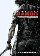 Rambo - Norwegian Movie Poster (xs thumbnail)