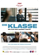 Entre les murs - German Movie Poster (xs thumbnail)