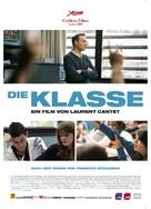 Entre les murs - German Movie Poster (xs thumbnail)
