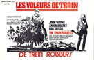 The Train Robbers - Belgian Movie Poster (xs thumbnail)