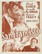 San Francisco - Belgian Movie Poster (xs thumbnail)