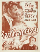 San Francisco - Belgian Movie Poster (xs thumbnail)