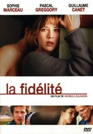 La fidélité - French DVD cover (xs thumbnail)