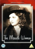 The Miracle Woman - British DVD cover (xs thumbnail)