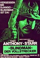 Blindman - German Movie Poster (xs thumbnail)