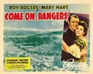 Come On, Rangers - Movie Poster (xs thumbnail)