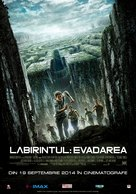 The Maze Runner - Romanian Movie Poster (xs thumbnail)