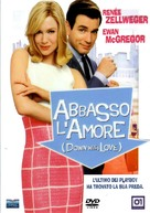 Down with Love - Italian DVD cover (xs thumbnail)