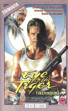 Eye of the Tiger - Finnish VHS movie cover (xs thumbnail)