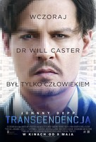 Transcendence - Polish Movie Poster (xs thumbnail)