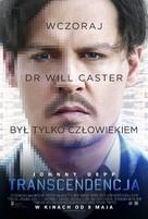 Transcendence - Polish Movie Poster (xs thumbnail)