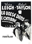 Waterloo Bridge - French Movie Poster (xs thumbnail)