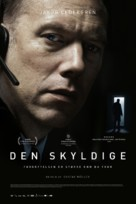 Den skyldige - Norwegian Movie Poster (xs thumbnail)