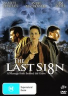 The Last Sign - Australian Movie Cover (xs thumbnail)