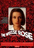Die weiße Rose - German Movie Poster (xs thumbnail)