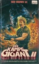 The Firing Line - German VHS cover (xs thumbnail)
