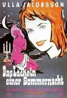 Sommarnattens leende - German Movie Poster (xs thumbnail)
