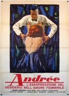 Andrea - Wie ein Blatt auf nackter Haut - Italian Movie Poster (xs thumbnail)