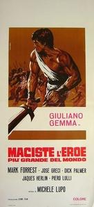 Maciste, l'eroe più grande del mondo - Italian Movie Poster (xs thumbnail)