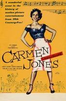 Carmen Jones - British Movie Poster (xs thumbnail)