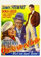It's a Wonderful Life - Belgian Movie Poster (xs thumbnail)
