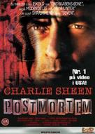 Postmortem - Danish poster (xs thumbnail)