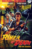 River of Death - German VHS movie cover (xs thumbnail)