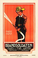 The Fireman - Swedish Movie Poster (xs thumbnail)