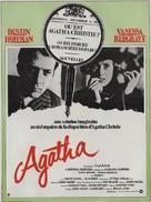 Agatha - French Movie Poster (xs thumbnail)