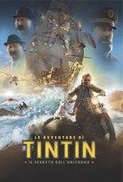 The Adventures of Tintin: The Secret of the Unicorn - Italian Movie Poster (xs thumbnail)