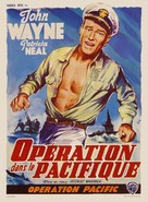 Operation Pacific - Belgian Movie Poster (xs thumbnail)